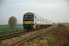 12 December 2013 ::  Approaching Ely Dock Junction is 170203 with 1E78, the 1358 from Ipswich to Peterborough