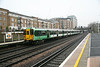 12 December 2013 :: Pictured at Kensington Olympia is Southern Class 455 no 819 working 2O24 the 0933 from Shepherds Bush to Clapham Junction