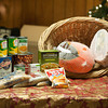 131205 VFW Food Drive JOED VIERA/STAFF PHOTOGRAPHER Lockport, NY- Food donations intended to feed 10 families for Christmas sit on a table at VFW post 2535. Those interested in making a donation can call Mr. Raymond Pierce at (716) 471-3507, bring non perishable food items to the Post, send cash, or make checks payable to LOCV and mail to The Veterans of Foreign Wars at 112 Caledonia Street, Lockport, NY 14094  Thursday Dec 5th, 2013.