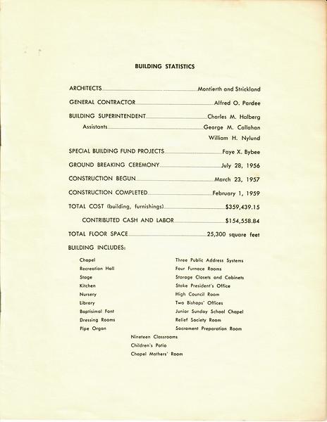 Dedication Redondo Stake Ctr 1959 2