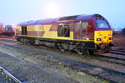67022 Didcot Station Sidings.