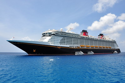 Disney Fantasy at one of our stops