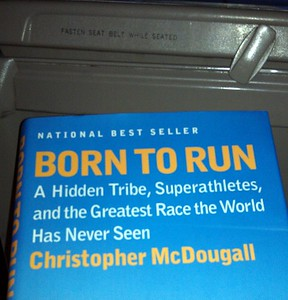 Some inspiration on the plane: Born to Run, by Christopher McDougall