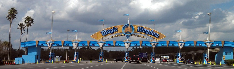 Entrance to Magic Kingdom Park