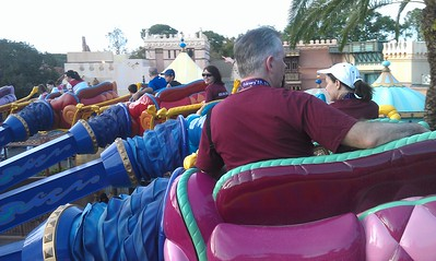 Riding The Magic Carpets of Aladdin