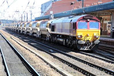 66121 1012/6T30 Shildon-Doncaster.
