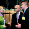 The EEA Council 19 November 2013; From left: Aurelia Frick, Minister of Foreign Affairs, Liechtenstein; Vidar Helgesen, Minister of EEA and EU Affairs, Norway; Gunnar Bragi Sveinsson, Minister for Foreign Affairs, Iceland (Photo: Council of European Union)