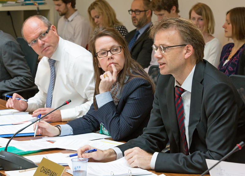 From left: Director Knut Hermansen and Director Katrin Sverrisdóttir, EFTA Secretariat, and Deputy Director-General Per Sjaastad (EEA EFTA Chair), Norwegian Ministry of Foreign Affairs.