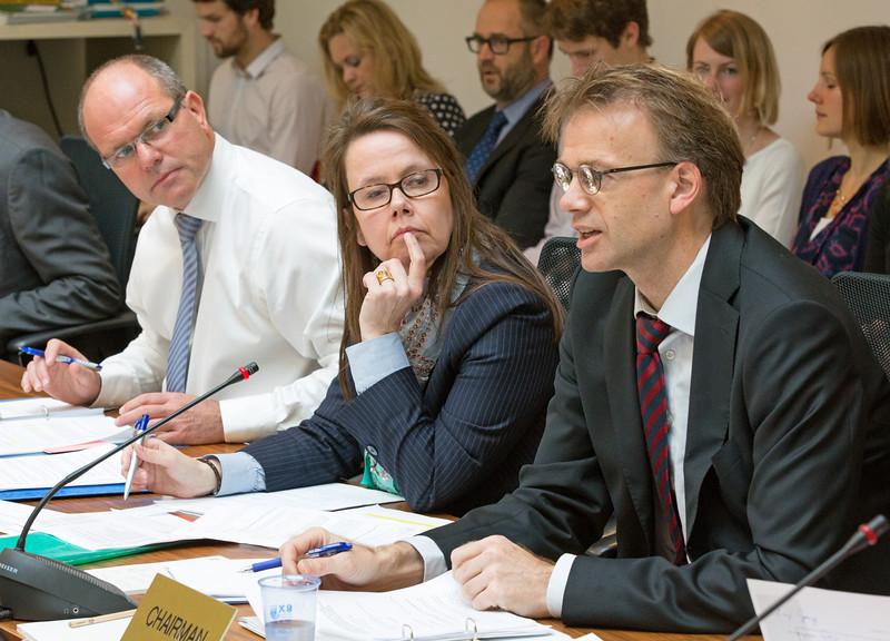 From left: Director Knut Hermansen and Director Katrin Sverrisdóttir, EFTA Secretariat, and Deputy Director-General Per Sjaastad (EEA EFTA Chair), Norwegian Ministry of Foreign Affairs.