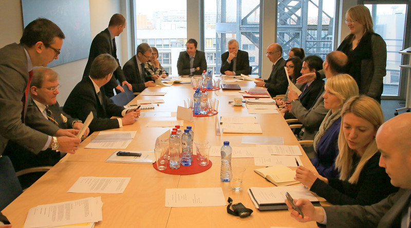 Signing of agreed minutes on the enlargement of the EEA with Croatia, Brussels, 20 November 2013 (Photo: EFTA)