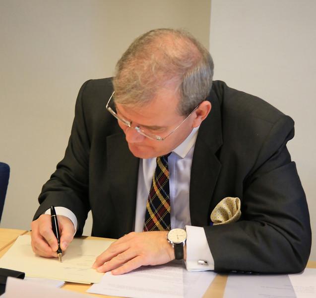 Ambassador Kurt Jäger, Mission of Liechtenstein to the EU (Photo: EFTA)