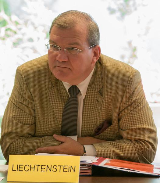 Ambassador Kurt Jäger, Liechtenstein Mission to EU.