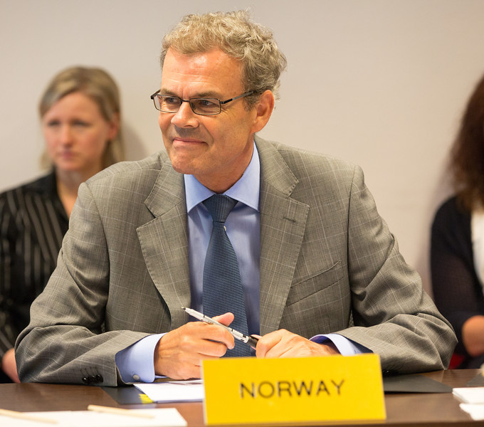 Ambassador Atle Leikvoll, Mission of Norway to the EU.