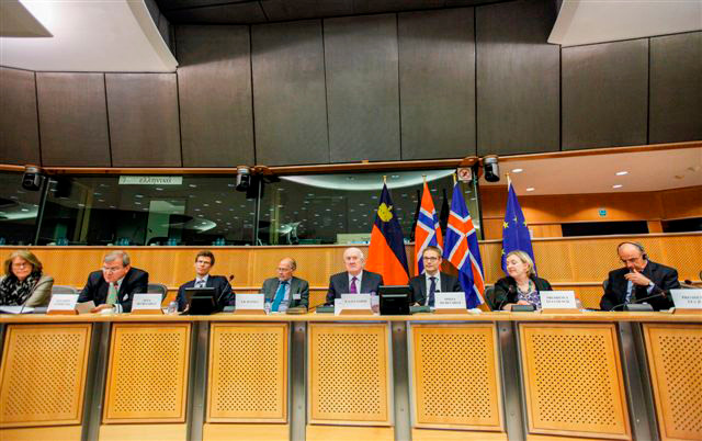 40th Meeting of the EEA Joint Parliamentary Committee, 29 May 2013 (Photo: European Parliament)