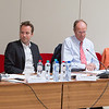 24 May 2013, Consultative Committee Seminar. From left: Chair Thomas Angell, EFTA Consultative Committee; Pål Wennerås, Office of the Attorney General, Norway; Henrik Munthe, Confederation of Norwegian Enterprise; Chair Mona Næss, EFTA Working Group on Health & Safety at Work and Labour Law
