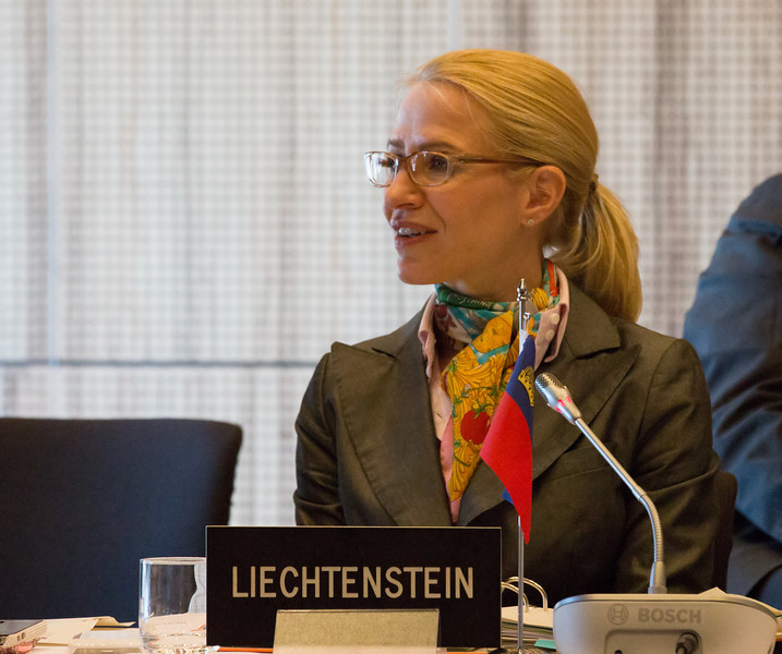 Aurelia Frick, Minister of Foreign Affairs, Liechtenstein