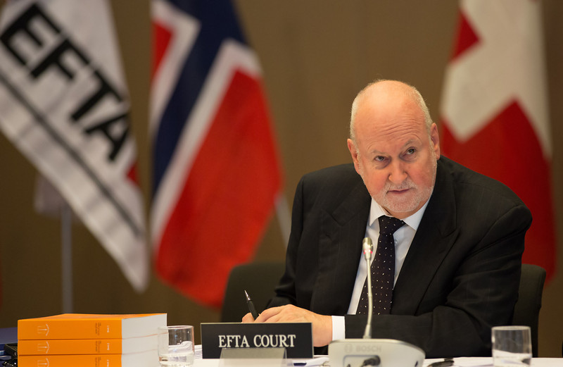 Carl Baudenbacher, President of the EFTA Court