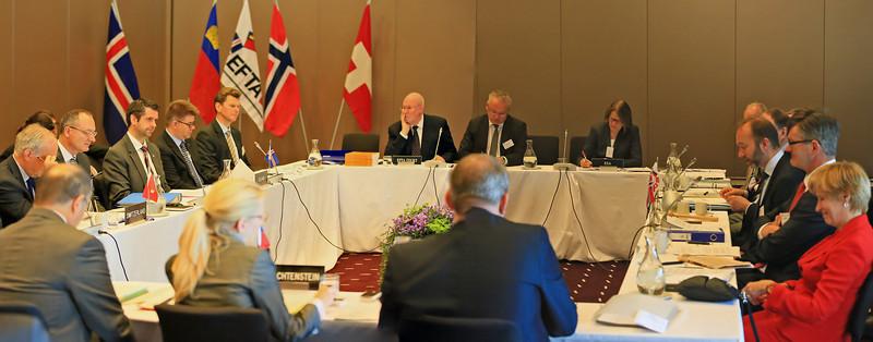 The EFTA Ministeral Meeting, Trondheim, Norway, 24 June 2013