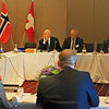 The EFTA Ministeral Meeting, Trondheim, Norway, 24 June 2013