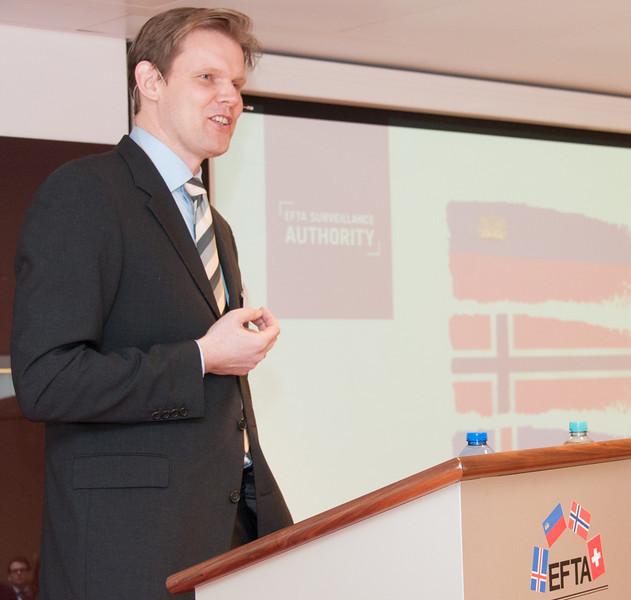 Trygve Mellvang-Berg, Press & Information Officer, EFTA Surveillance Authority