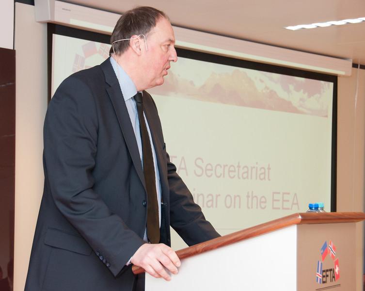 Kristinn F. Árnason, Secretary-General, EFTA Secretariat