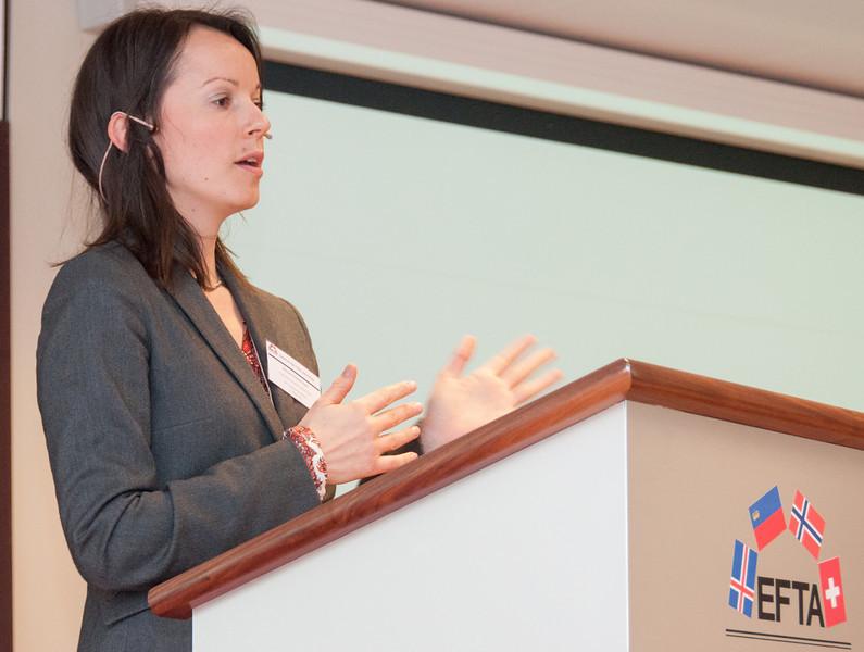 Miriam Stackpole Dahl, Communications Officer, Financial Mechanism Office