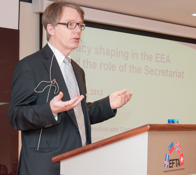 Tore Grønningsæter, Senior Information Officer, EFTA Secretariat