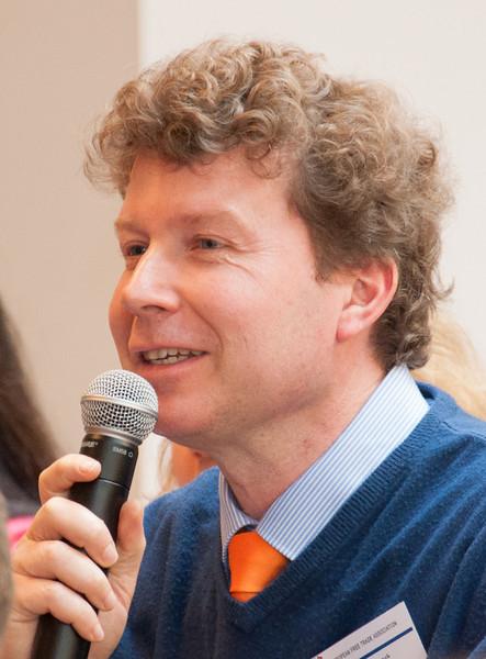 Hugo van Randwyck, Pro-EFTA for the UK and Netherlands