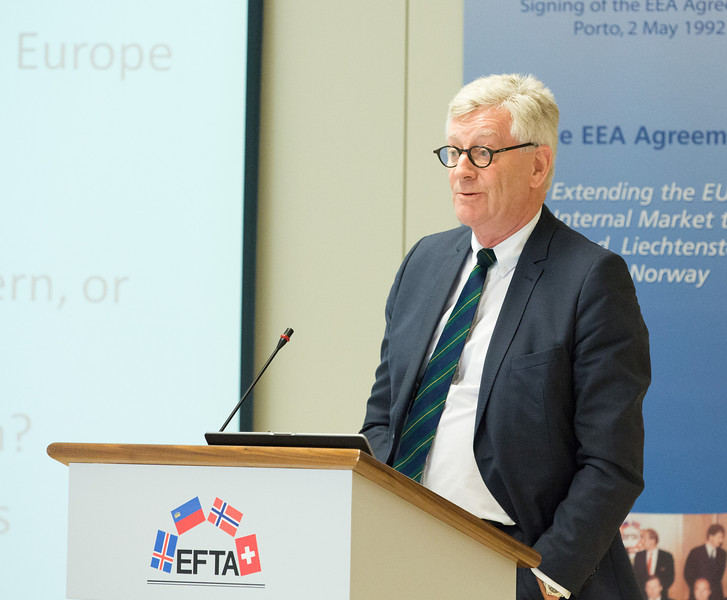 Conference on free movement of persons & the impact on the welfare state, 20 November 2013; Thomas Angell, Chair of the EFTA Consultative Committee (Photo: EFTA)