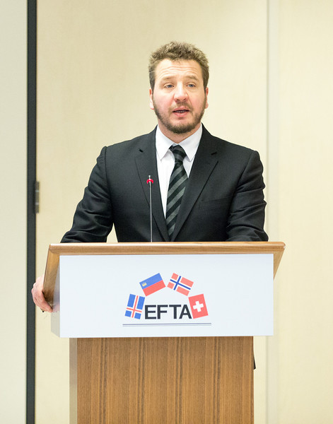 Conference on free movement of persons & the impact on the welfare state, 20 November 2013; Guðlaugur Þór Þórðarson, Chair of the EFTA Parliamentary Committee (Photo: EFTA)