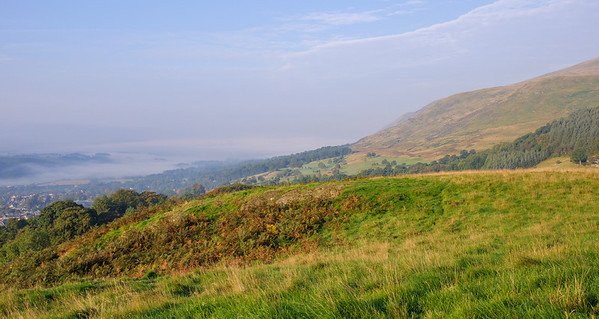 Early morning on Law Hill - 28/09/2013