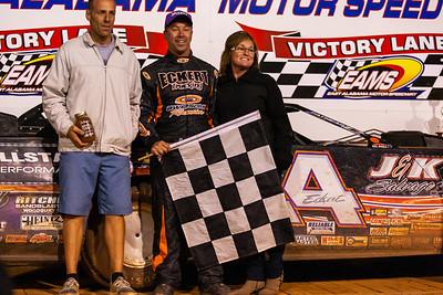 Eric Jacobson (L), Rick Eckert (C) and Krystal Eckert (R)