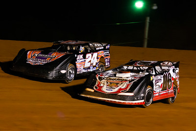 Randy Weaver 9116) and Rick Eckert (24E)