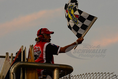East Bay Raceway Park Flagman Ronnie Luckock