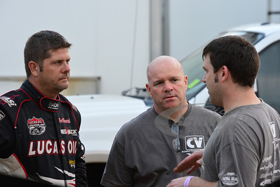 Earl Pearson Jr. (left), Steve Shaver (center), and Kevin Rumley (right)