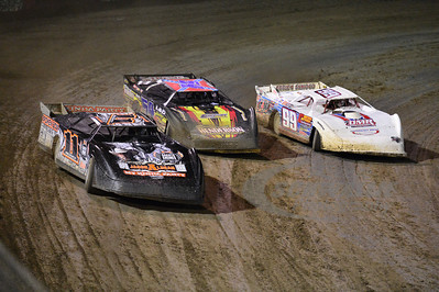 11 Tyler Reddick, 54 David Breazeale, and 99 Donnie Moran
