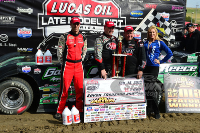 Top 3: Eric Jacobsen (left), Jimmy Owens (center), and Don O'Neal (right)