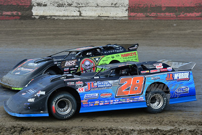 28 Dennis Erb, Jr. and 0 Scott Bloomquist