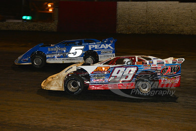 99 Donnie Moran and 5 Jared Landers