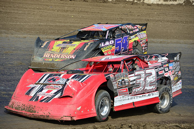 32 Bobby Pierce and 54 David Breazeale