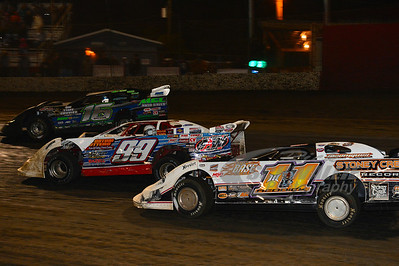 11 Tyler Reddick, 99 Donnie Moran, and 16 Justin Rattliff