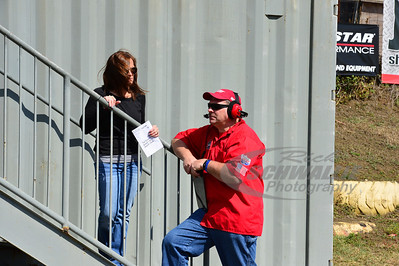 Lucas Oil Late Model Dirt Series Official Tim Keithley talks with wife Farrah