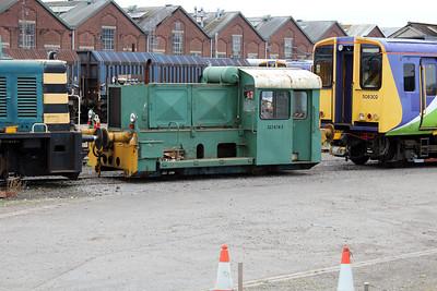 Unimog 323674-2 at Eastleigh Works.
