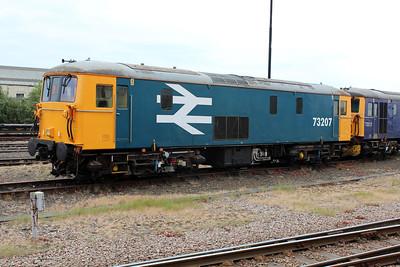 73207 Eastleigh Station Yard.