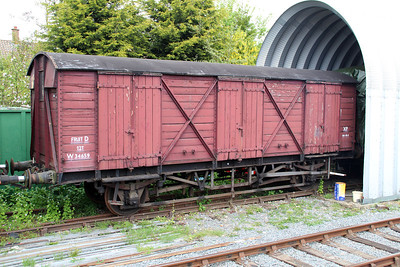 GWR PMV W34659 at Ongar Station.
