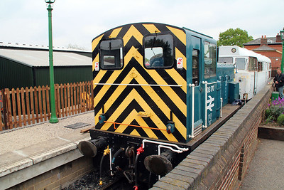 ex BR Class 03170 at North Weald Station.