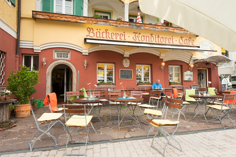 Lovely bakery in Marktschellenberg, Germany