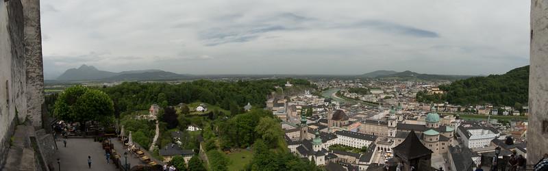 View onto Salzburg