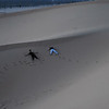 Sand Angels<br /> <br /> Jo Ramirez (L) and Anna Bullard (R) make sand angels in the desert dunes.