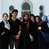 Mosque Buddies<br /> <br /> From left to right: Maddie Brady, Jo Ramirez, Camilla Dely, Anna Bullard, and Maria Russo posing in front of the Grand Mosque.